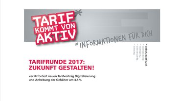 Versicherungen: TARIFRUNDE 2017:   ZUKUNFT GESTALTEN!
