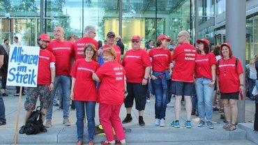 2017-06-19 Streik Versicherungen Frankfurt