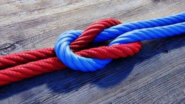 Vertrauen Zusammenhalt Gemeinschaft Knoten